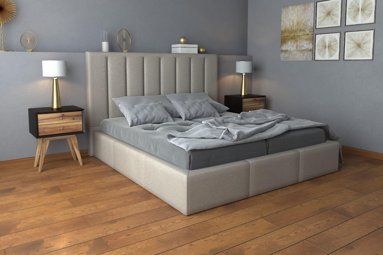 Фото Мягкая кровать Санам от ТМ Richman