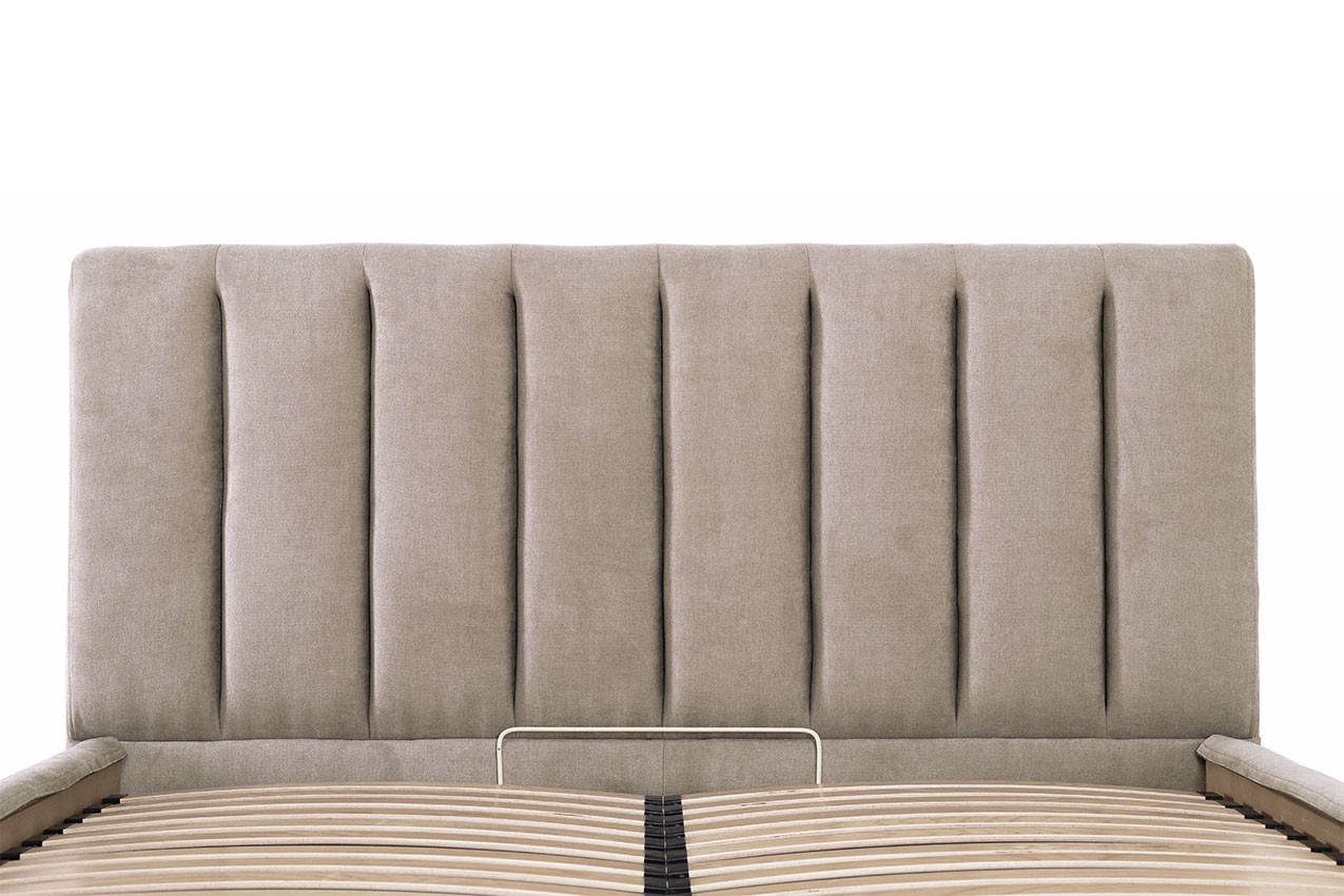 Мягкая кровать Санам от ТМ Richman Империя матрасов
