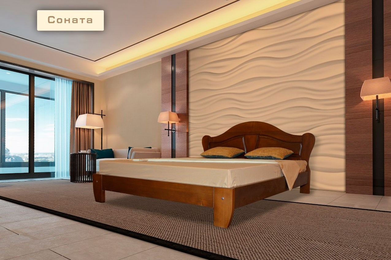 Кровать Соната от ТМ Stadnik недорого