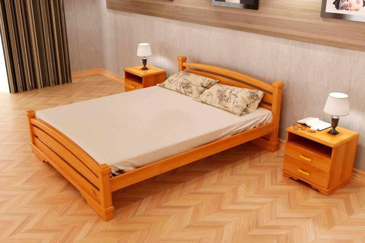 Фото Деревянная кровать Атлант 2 от ТМ ТИС