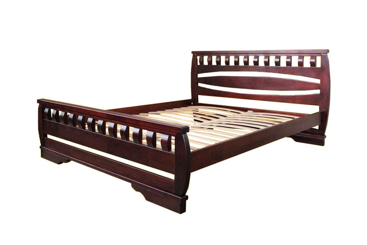 Деревянная кровать Атлант 4 от ТМ ТИС недорого