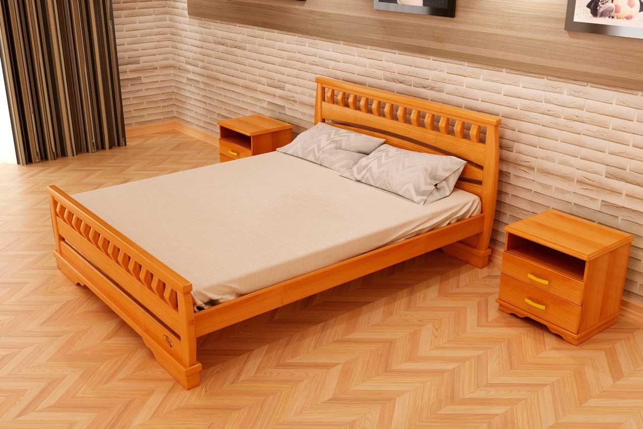 Фото Деревянная кровать Атлант 4 от ТМ ТИС