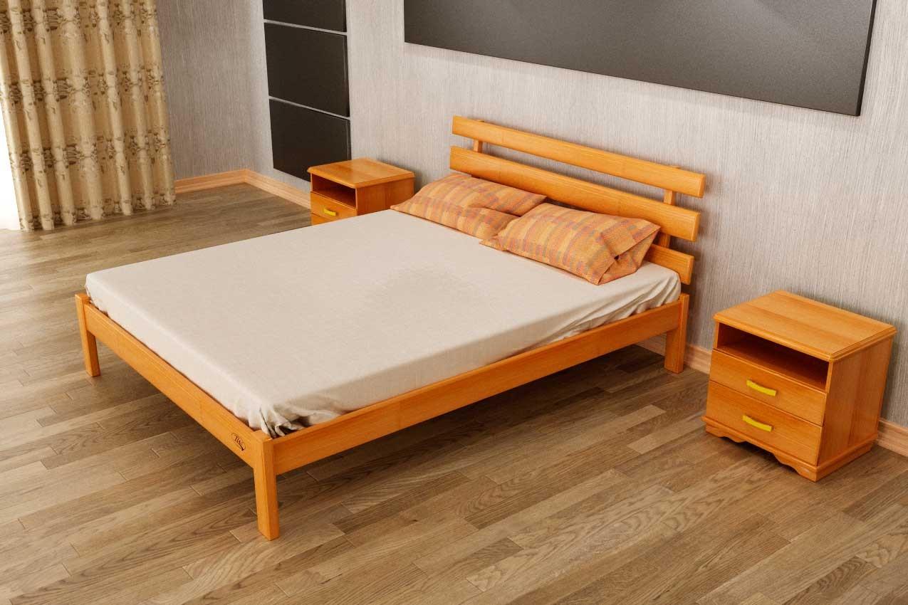 Фото Деревянная кровать Домино от ТМ ТИС