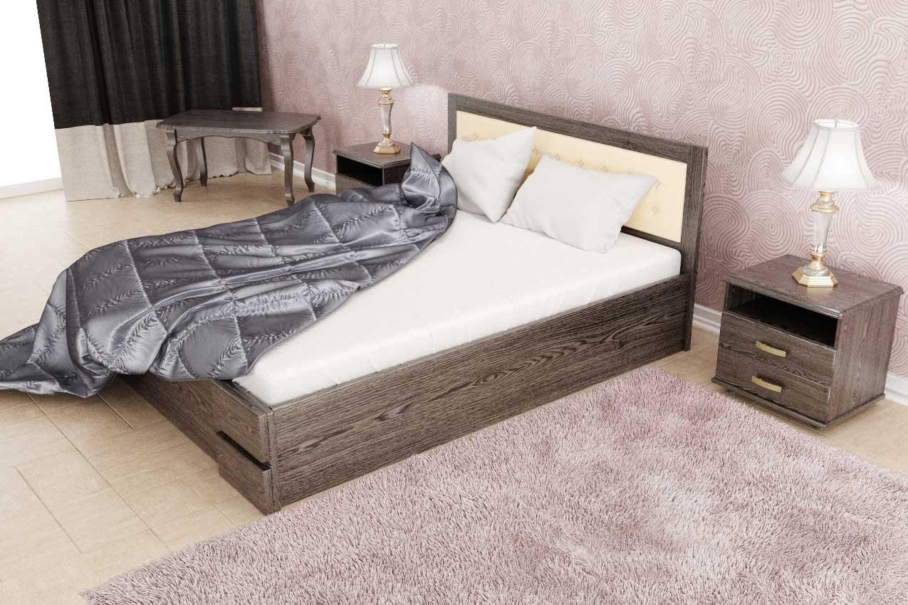 Фото Деревянная кровать Кармен (с подъемным механизмом) от ТМ ТИС
