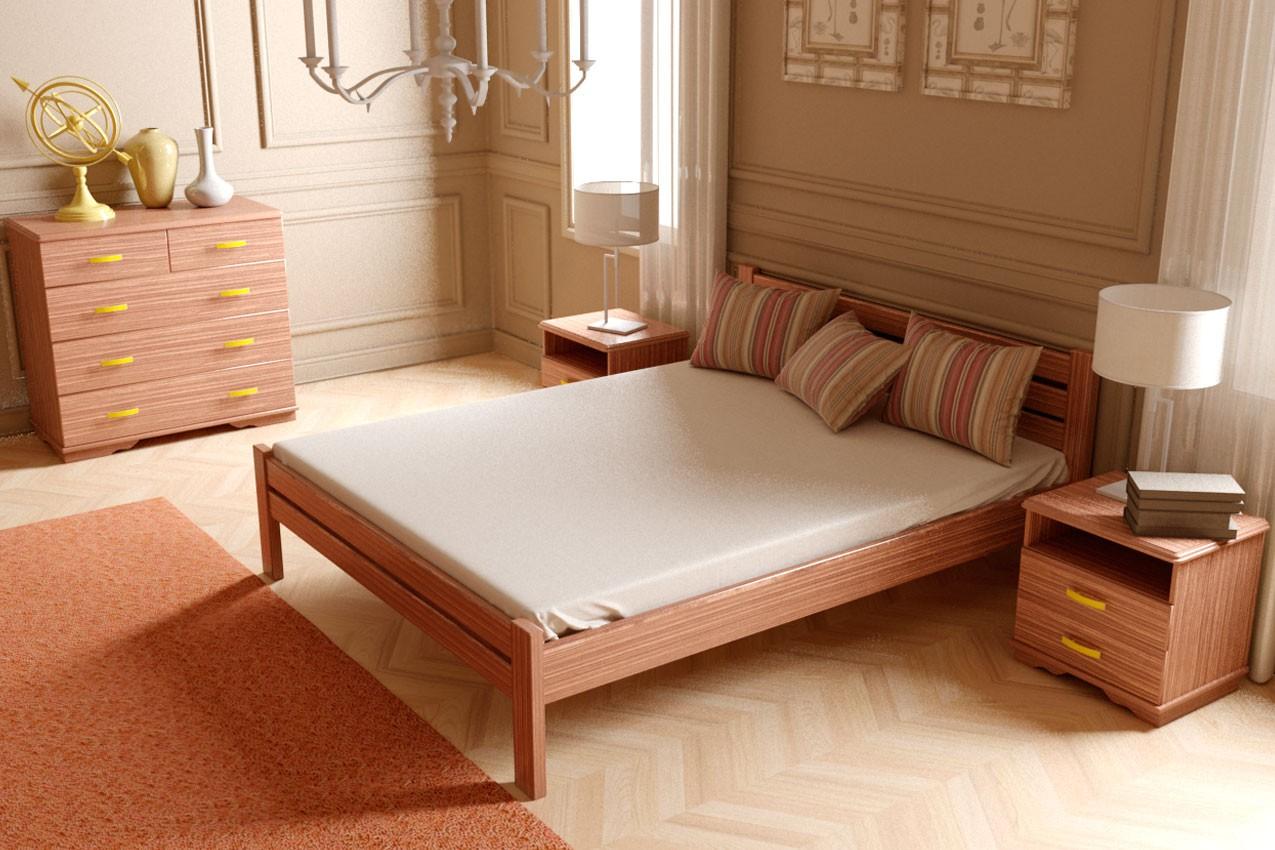 Фото Деревянная кровать Классика от ТМ ТИС