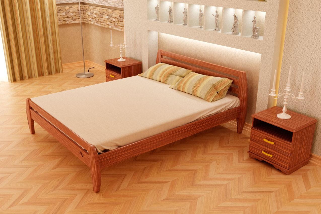 Фото Деревянная кровать Новое от ТМ ТИС