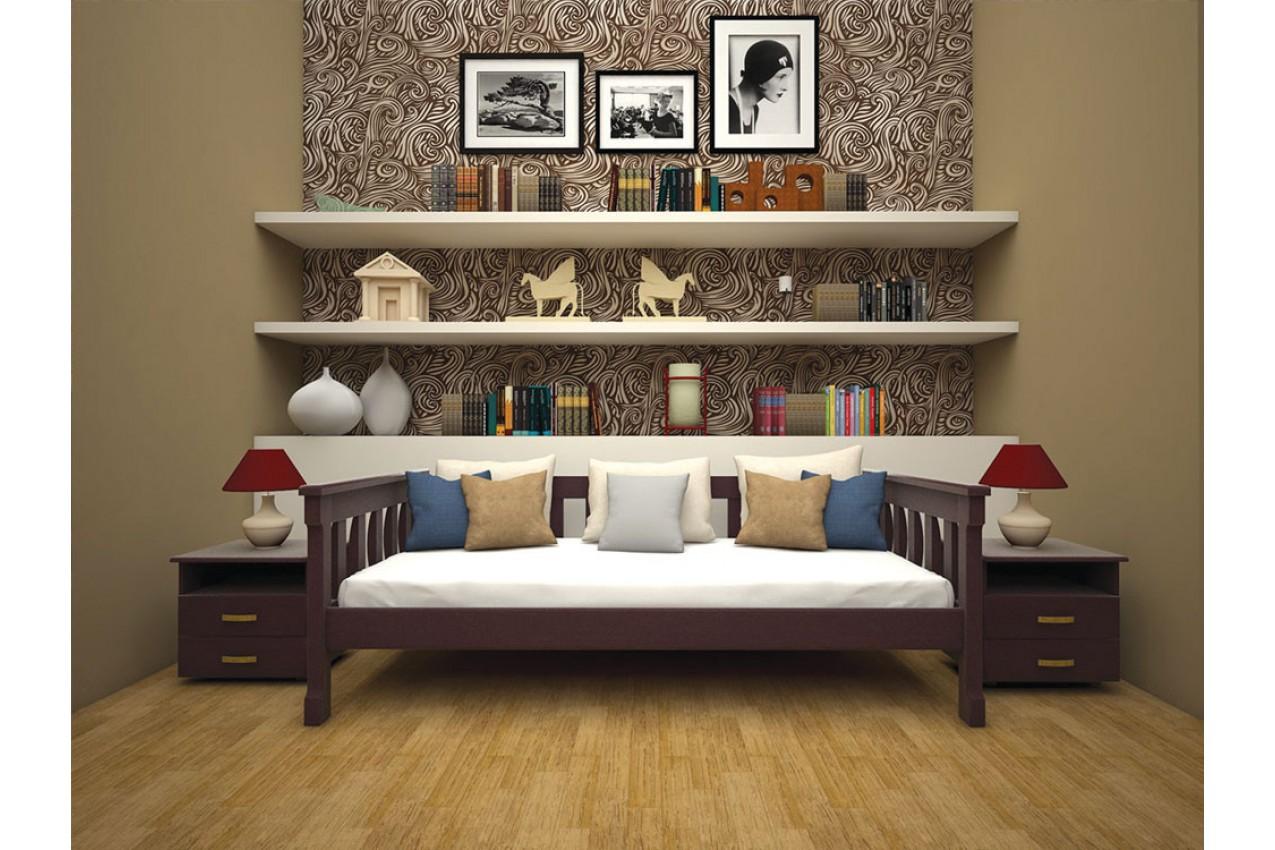 Деревянная кровать Рондо 3 от ТМ ТИС недорого