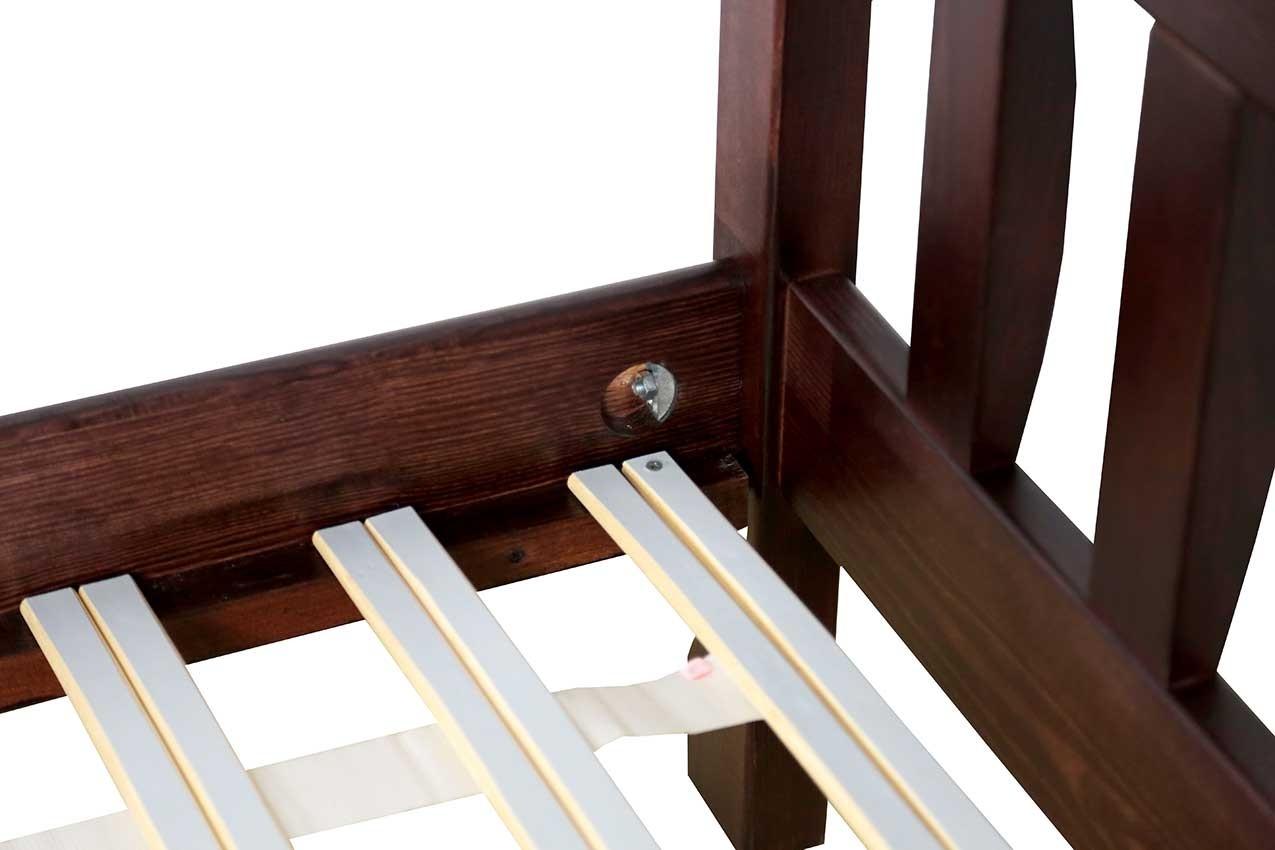 Деревянная кровать Рондо 3 от ТМ ТИС фото