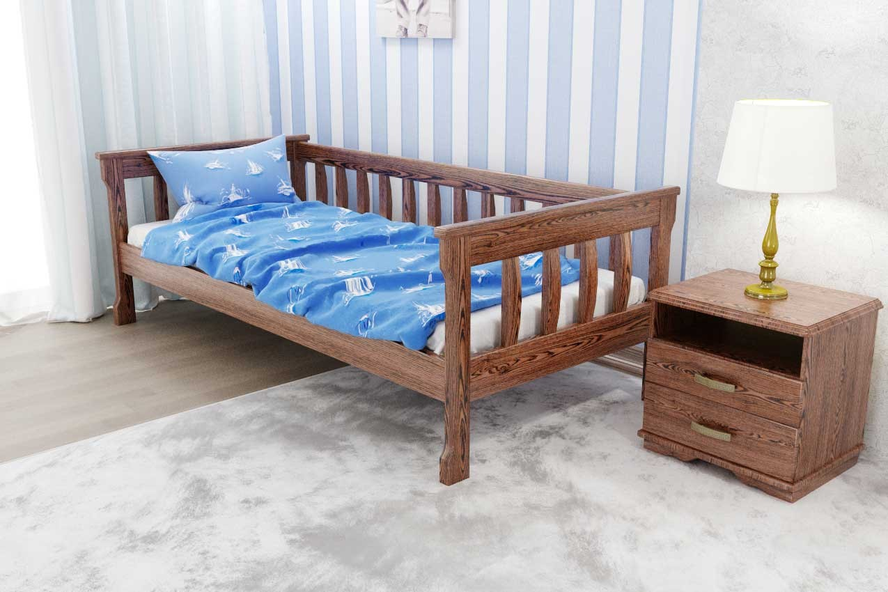 Фото Деревянная кровать Рондо 3 от ТМ ТИС