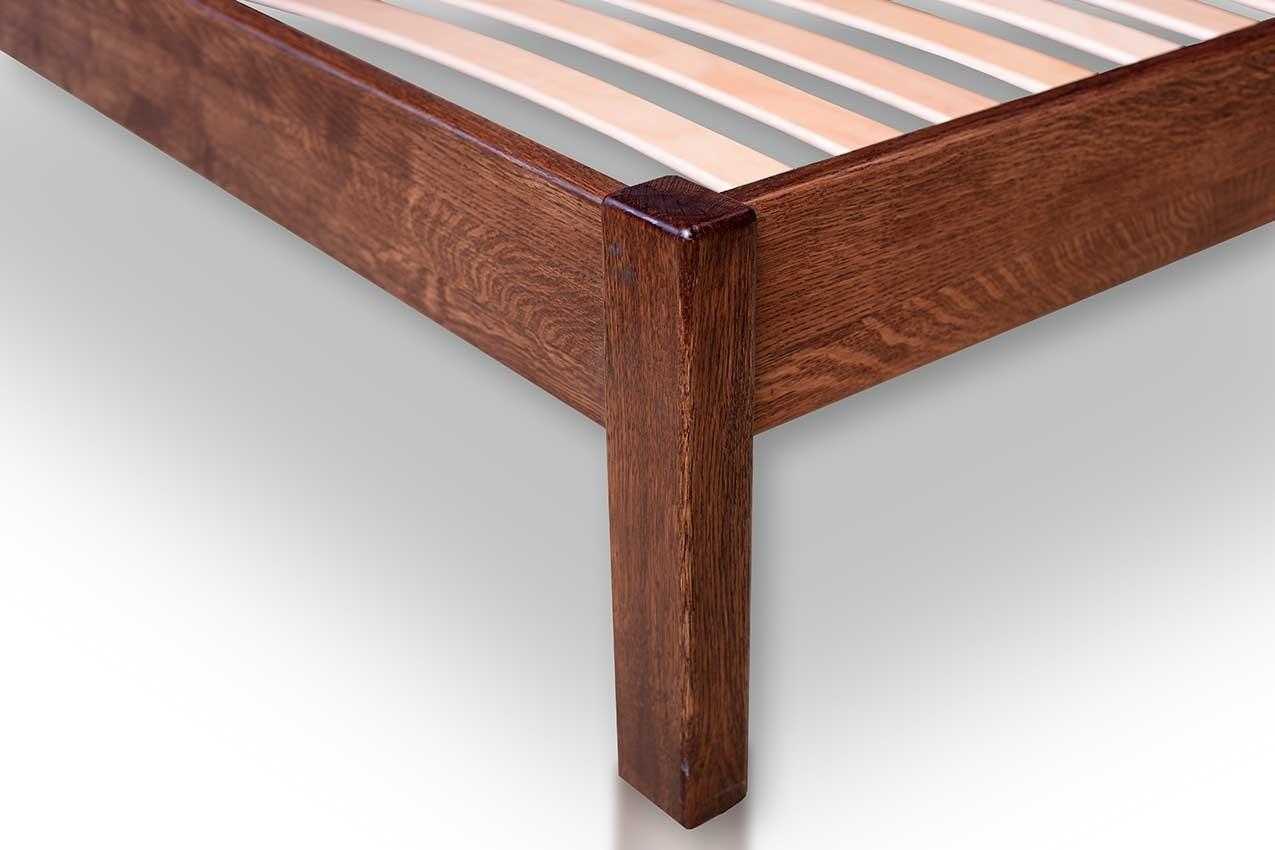 Дубовая кровать Комфорт 2 от ТМ Закарпатье в интернет-магазине