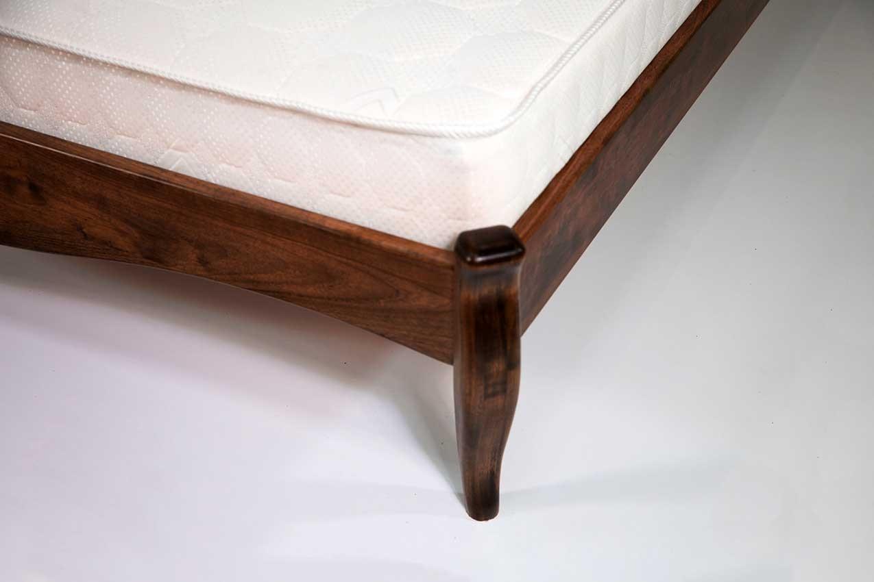 Дубовая кровать Комфорт 4 от ТМ Закарпатье фото