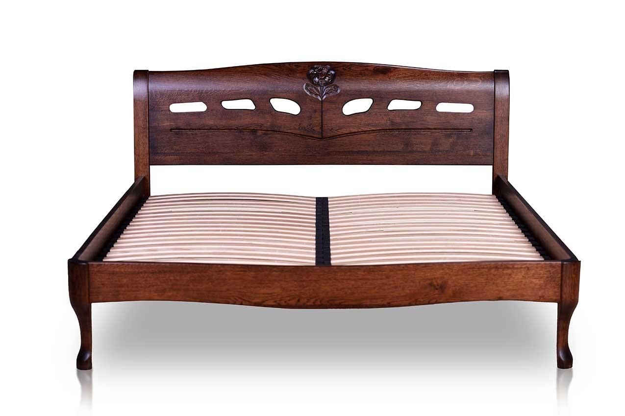 Дубовая кровать Лагуна от ТМ Закарпатье в интернет-магазине