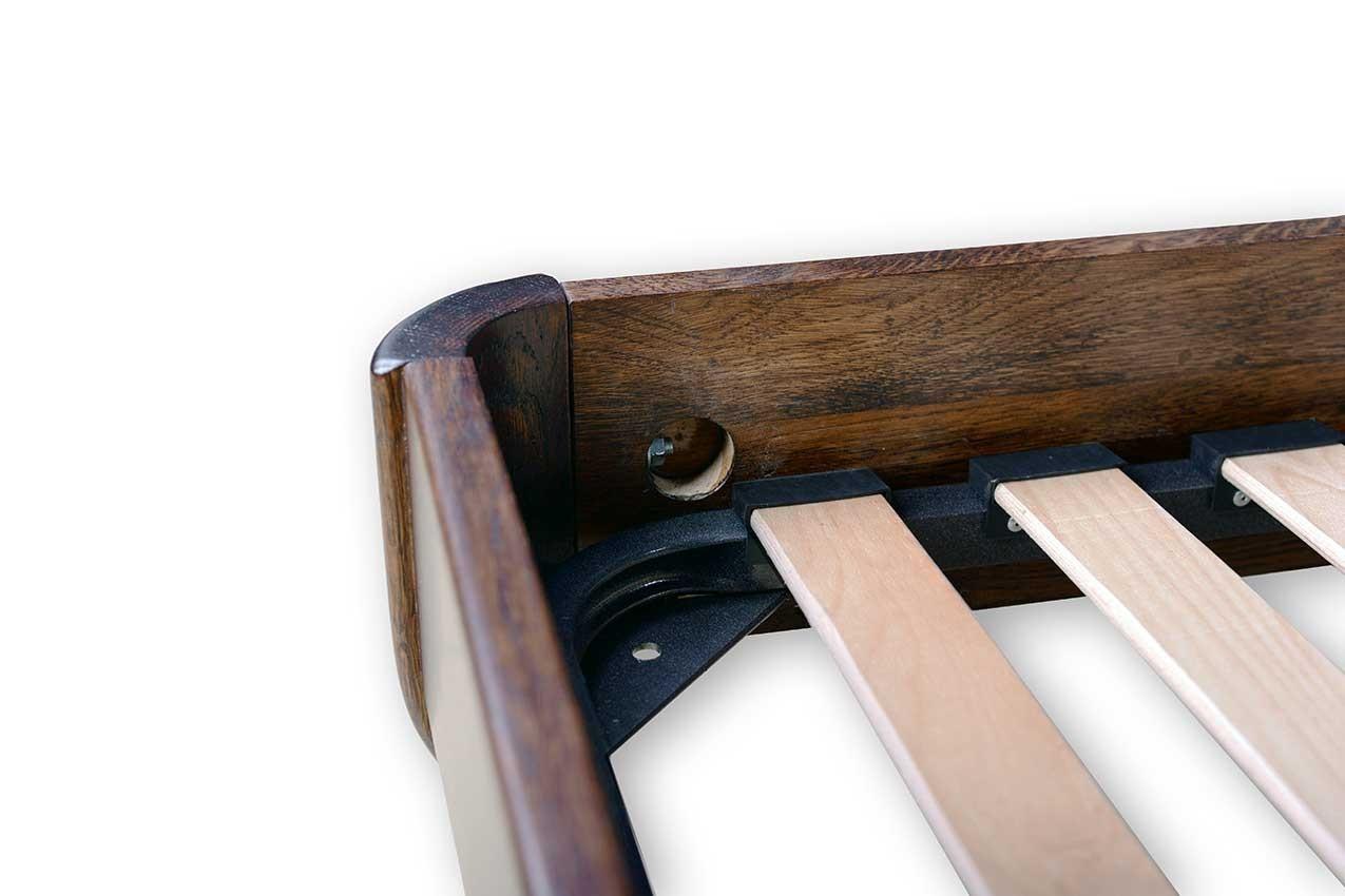 Дубовая кровать Лагуна от ТМ Закарпатье фото