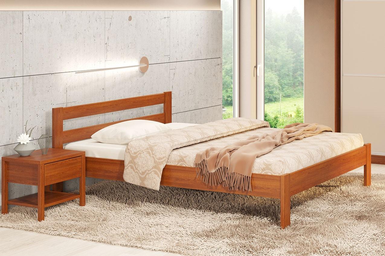 Фото Дерев'яне ліжко Альпіна від ТМ Camelia
