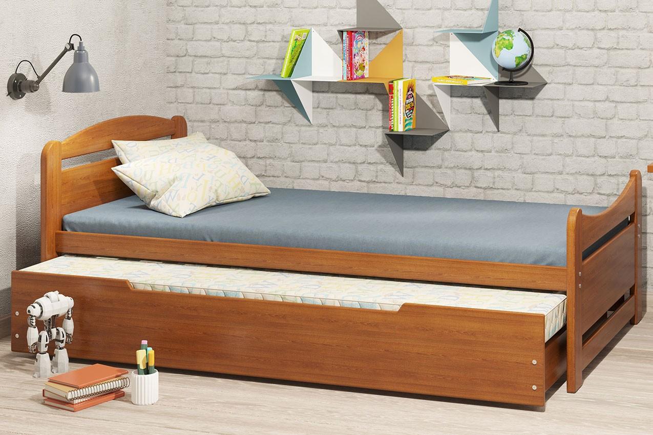 Фото Деревянная кровать Авена от ТМ Camelia