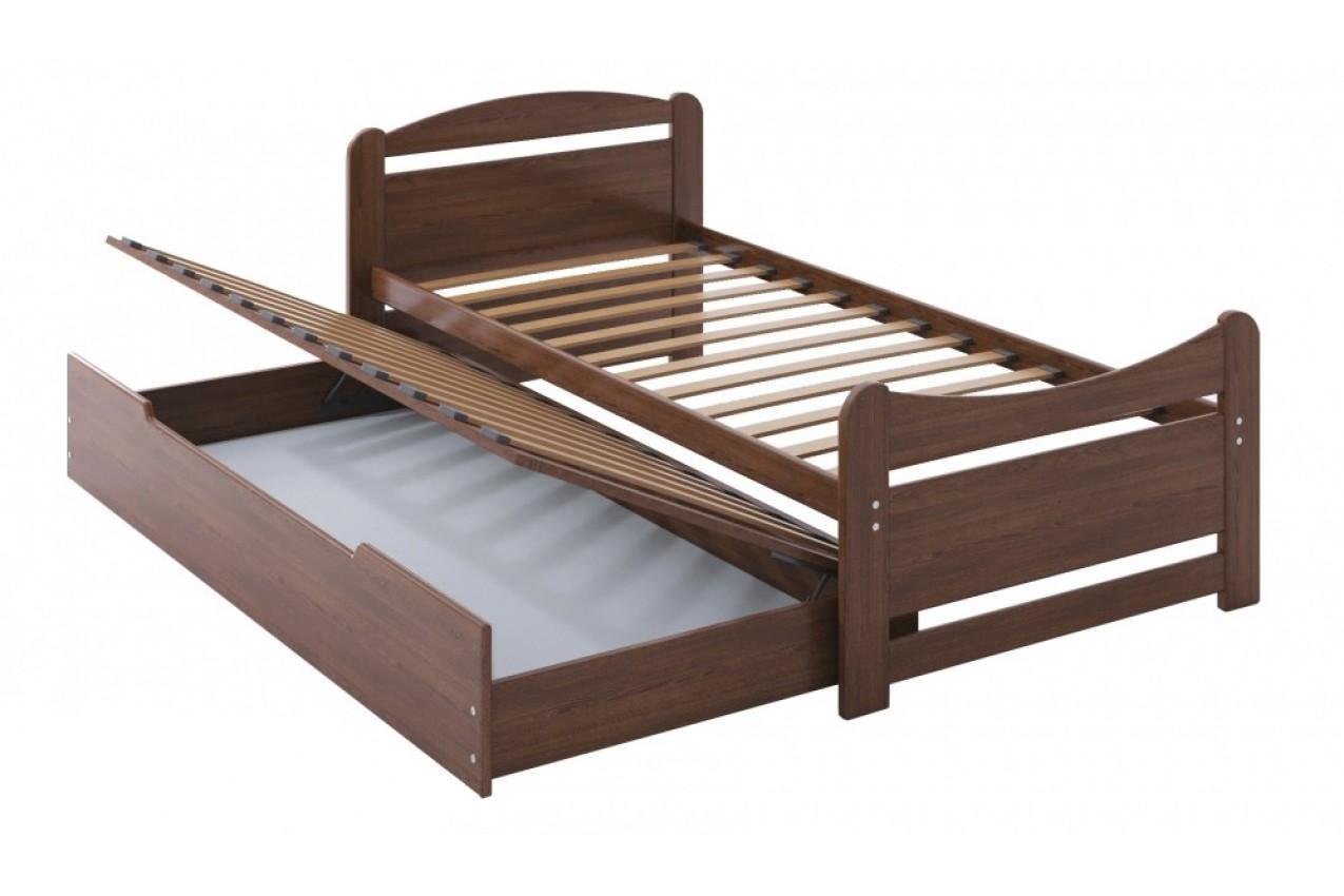 Деревянная кровать Авена от ТМ Camelia в Украине
