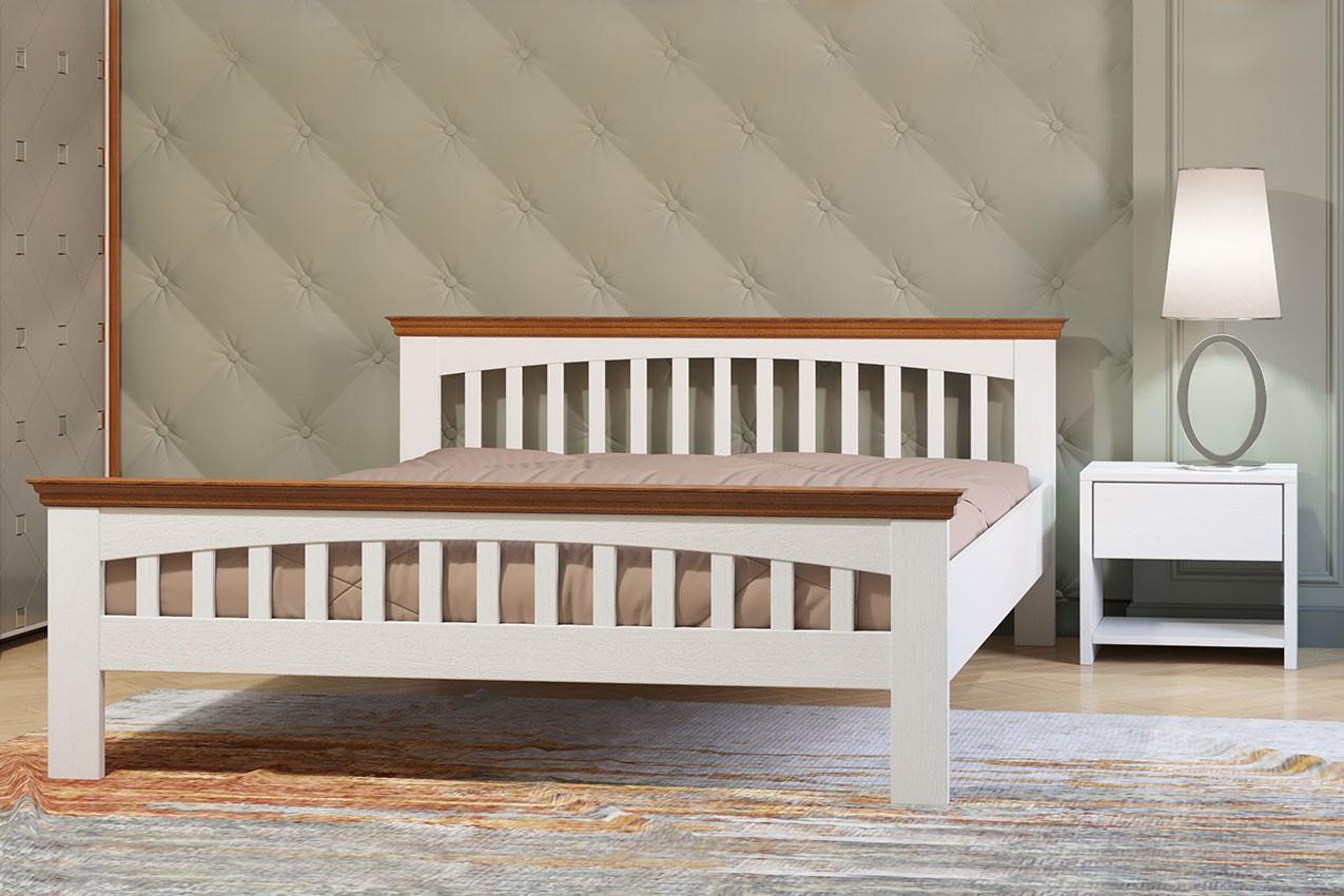 Фото Деревянная кровать Лаванда от ТМ Camelia