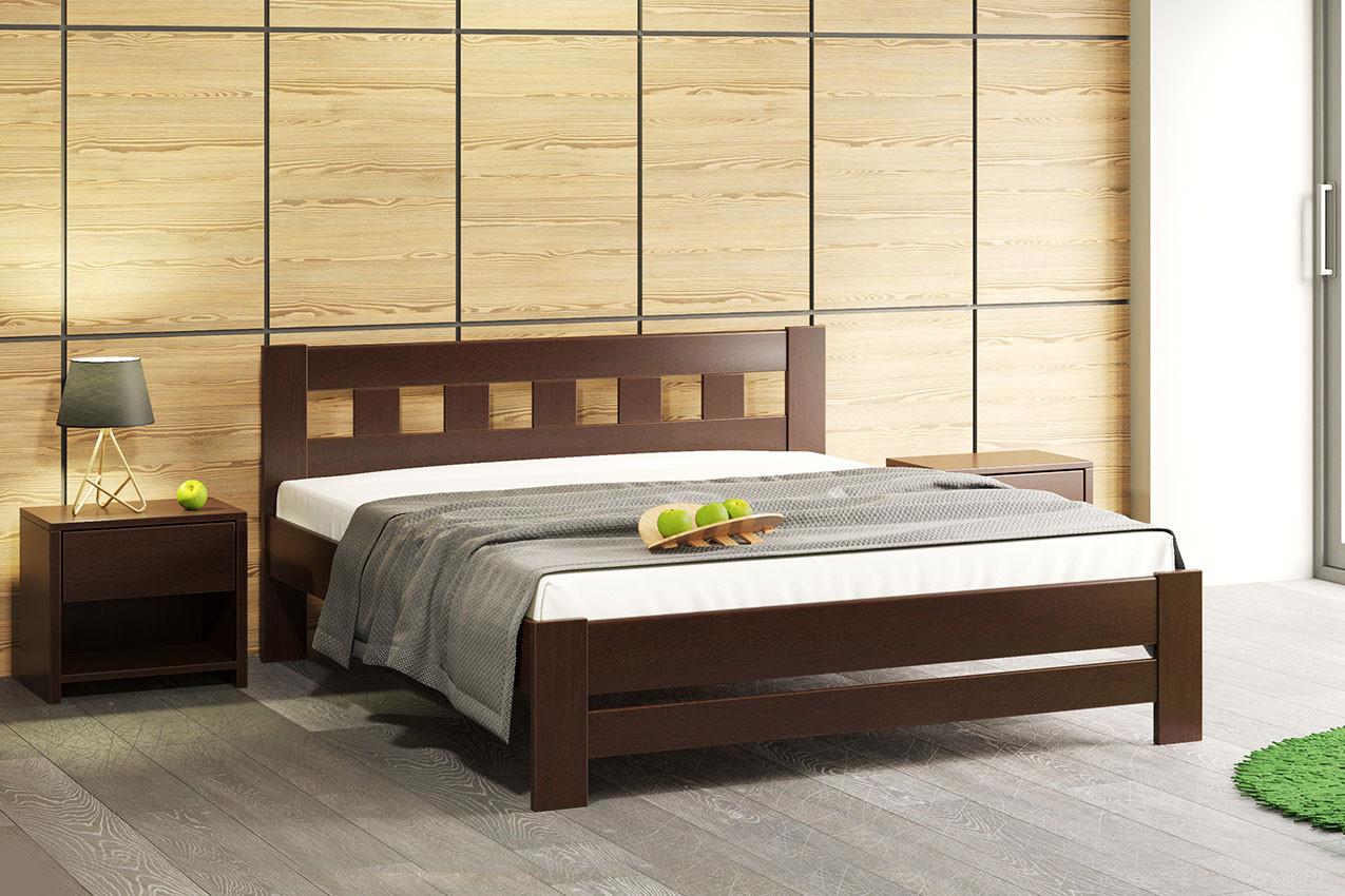 Фото Дерев'яне ліжко Сакура від ТМ Camelia