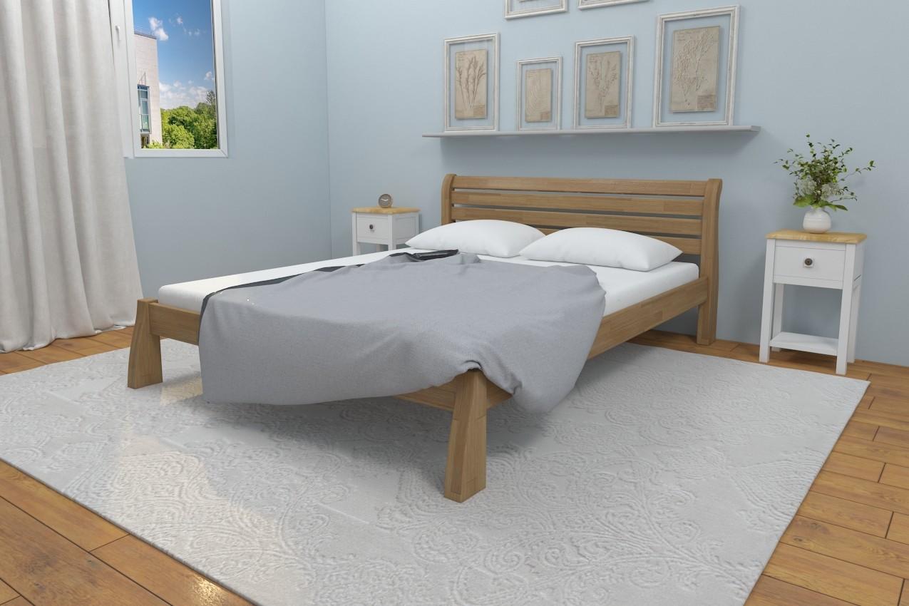 Фото Деревянная кровать Белония от ТМ Karpatis
