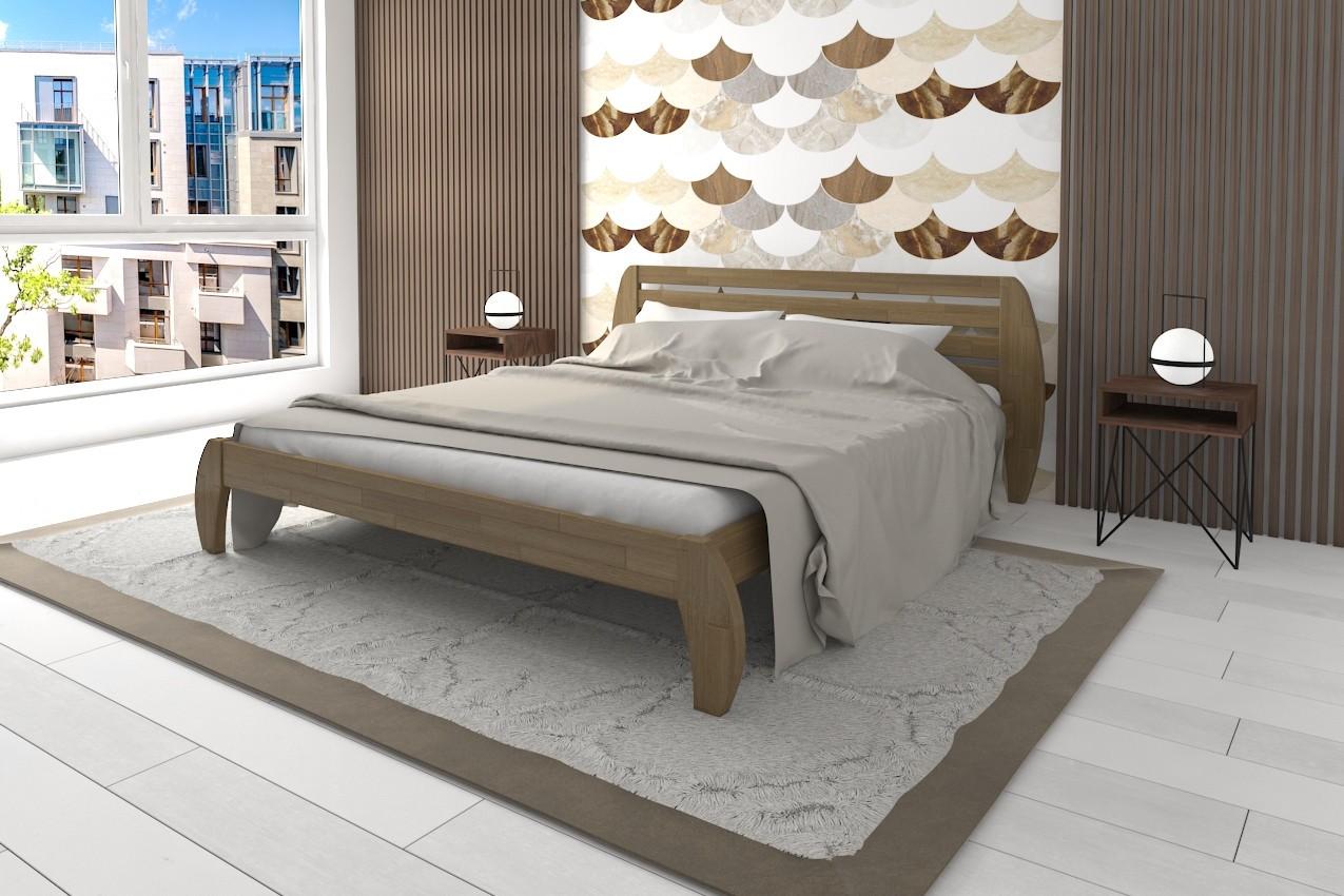 Фото Деревянная кровать Ладина от ТМ Karpatis